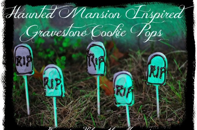 Halloween Gravestone Cookie Pops