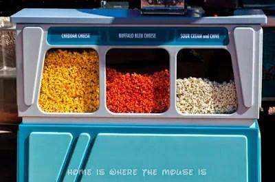3 Varieties of Gourmet Popcorn | Epcot