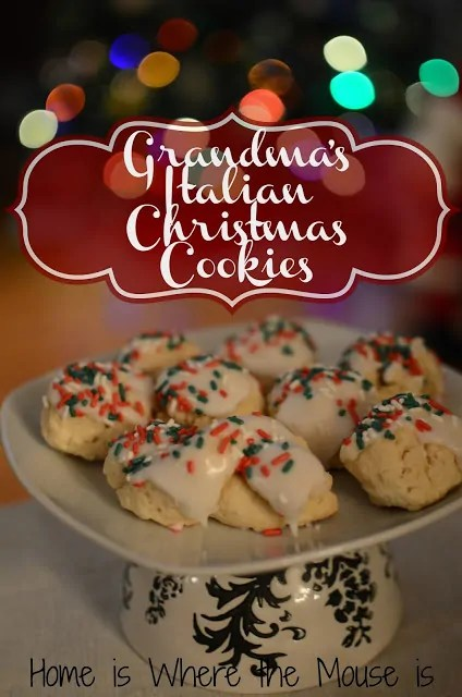 christmas is all about traditions and this recipe is one of ours for generations this sweet anise flavored italian cookie has gotten our family into the - Italian Christmas Cookie Recipes