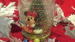 DIY Disney Snow Globe