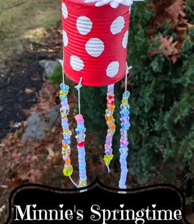 Minnie's Springtime Wind Chime
