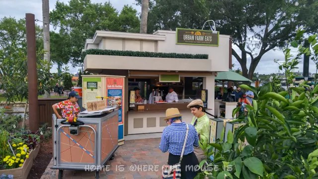 Urban Farm Eats is one of many unique Food Kiosks at the Epcot International Flower & Garden Festival