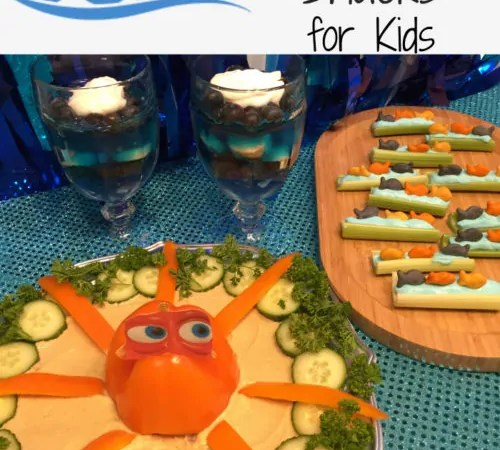 Healthy Finding Dory Inspired Snacks