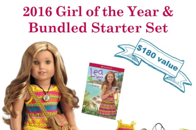 American Girl Doll 2016, Lea Clark is here. Enter for a chance to win her this holiday season.