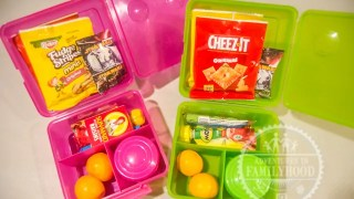 Kids Road Trip Snack Packs