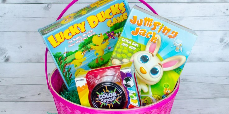 Eggs-traordinary Easter Games from Goliath and Pressman Games