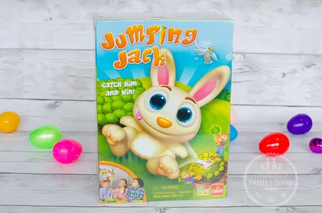 Jumping Jack Game for Easter Basket