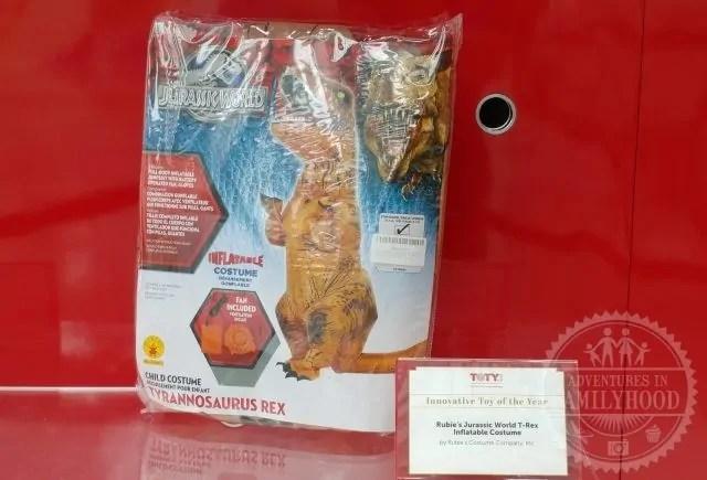Rubie's Jurassic World T-Rex Inflatable Costume by Rubie's Costume Company, Inc