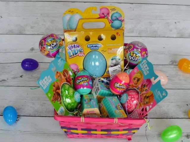 shopkins petkins surprise Easter Basket