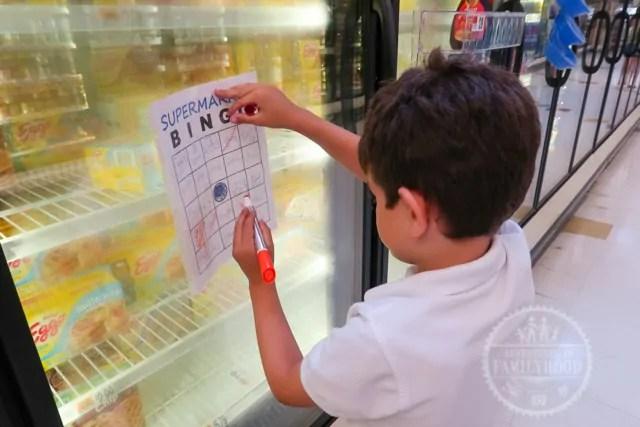 Supermarket Bingo