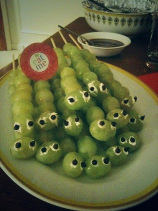 Edible caterpillars