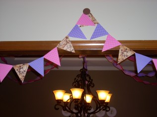 Pennant garland is always needed for a party