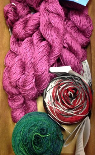 Birthday Yarn from The Yarn Mart!