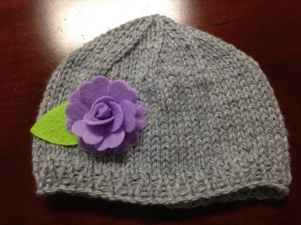 Little Hat to match the Baby Bow Booties