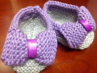 Baby Bow Booties