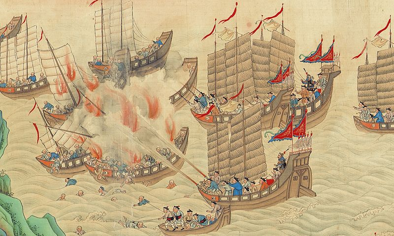 Piracy in the South China Sea, early 19th Century gives a good impression of massed pirate fleet in action