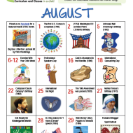 Teachable Moments in August from CurrClick