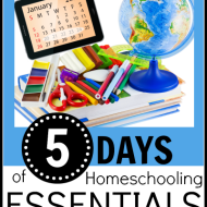 5 Days of Homeschooling Essentials – The Library