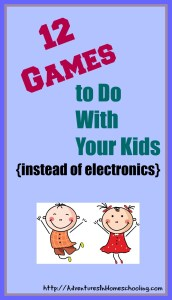 games to do with your kids