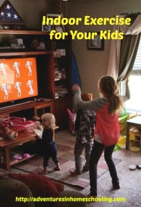 indoor exercise, exercise for kids
