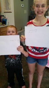 Writing their names in Cuneiform