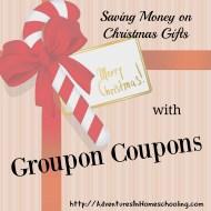 Saving Money on Christmas Gifts with Groupon Coupons