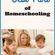 The Best Part of Homeschooling