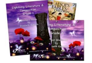 Lightning Literature with Hewitt Homeschooling – A Review