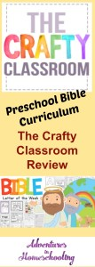 Preschool Bible Curriculum – The Crafty Classroom Review