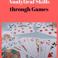Working on Analytical Skills through Games