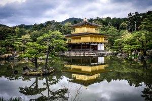 Kinkaku-jigolden-temple-kyoto
