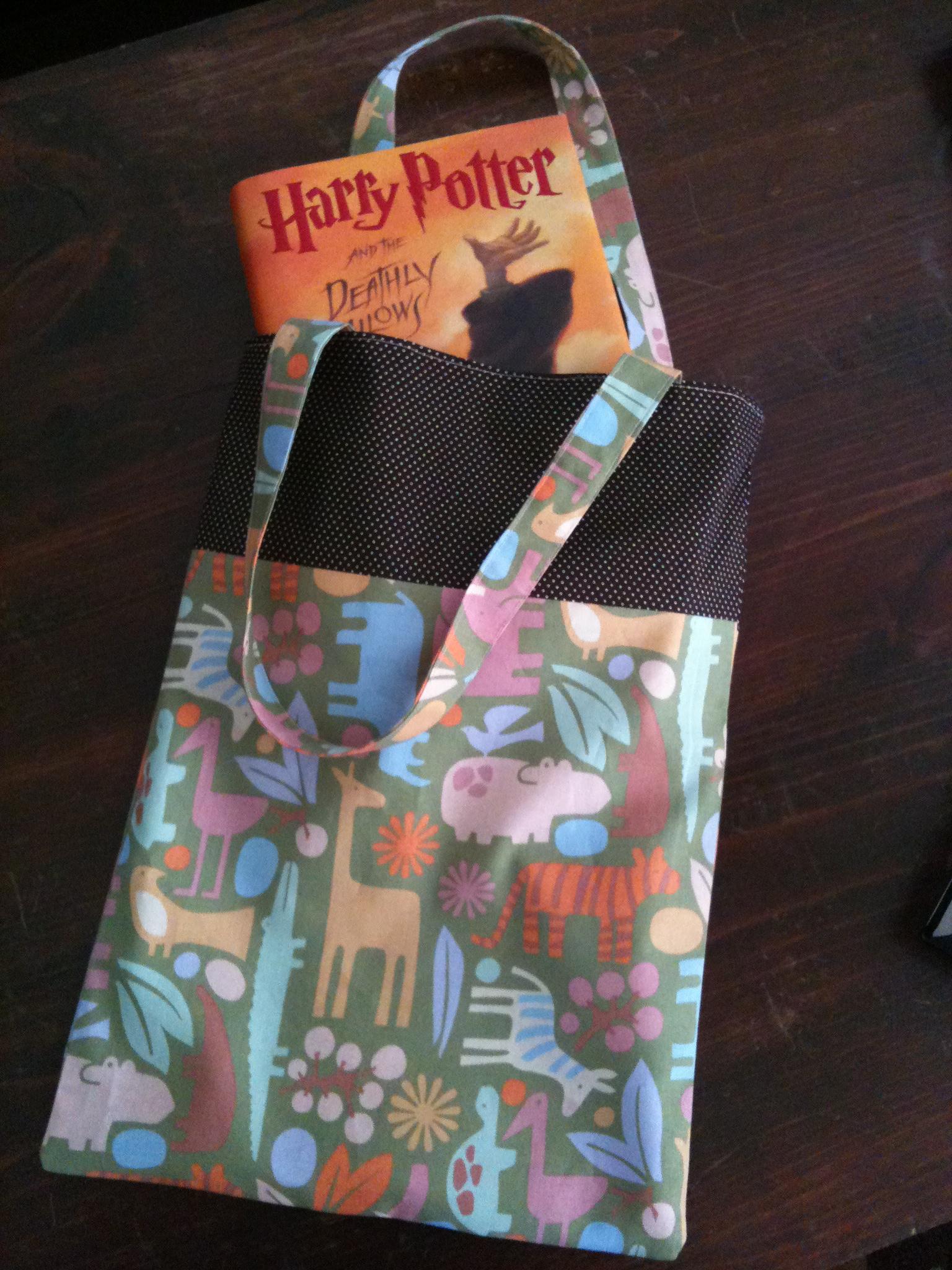 DIY Book Bag Tutorial Adventures In Motherhood