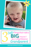 Toddler on cell phone