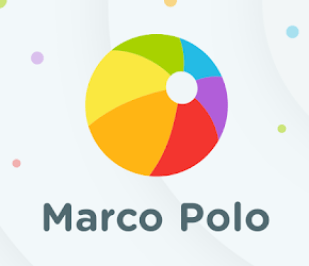 Marco Polo app logo for long distance grandparents