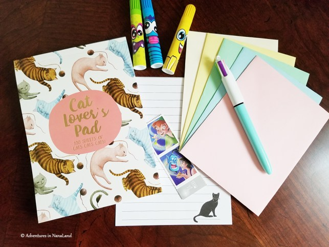 Cute stationary for being penpals with your grandchildren