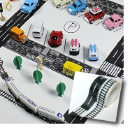 Road and Track Washi Tape for building cities - Non-electronic toys - Adventures in NanaLand