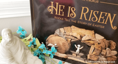 He is Risen book - Easter traditions for families - Adventures in NanaLand