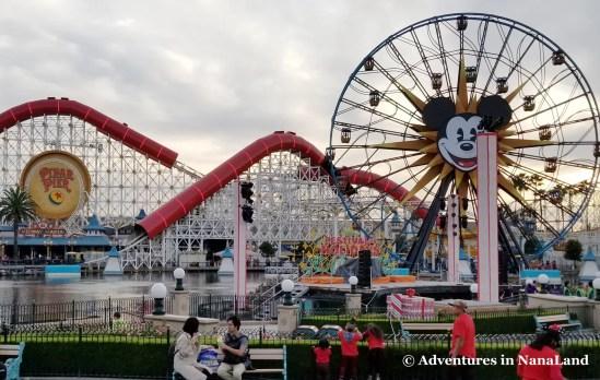 Incredicoaster at Disney California Adventure - Disneyland Ride Height Requirements - Adventures in NanaLand