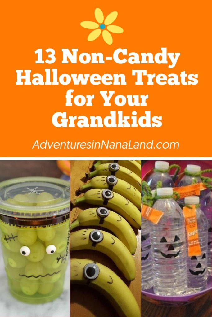 Non-candy Halloween Treats - Adventures in NanaLand