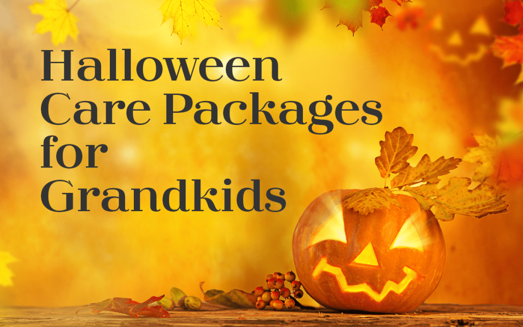 Halloween Care Packages for Grandkids - Adventures in Nanaland