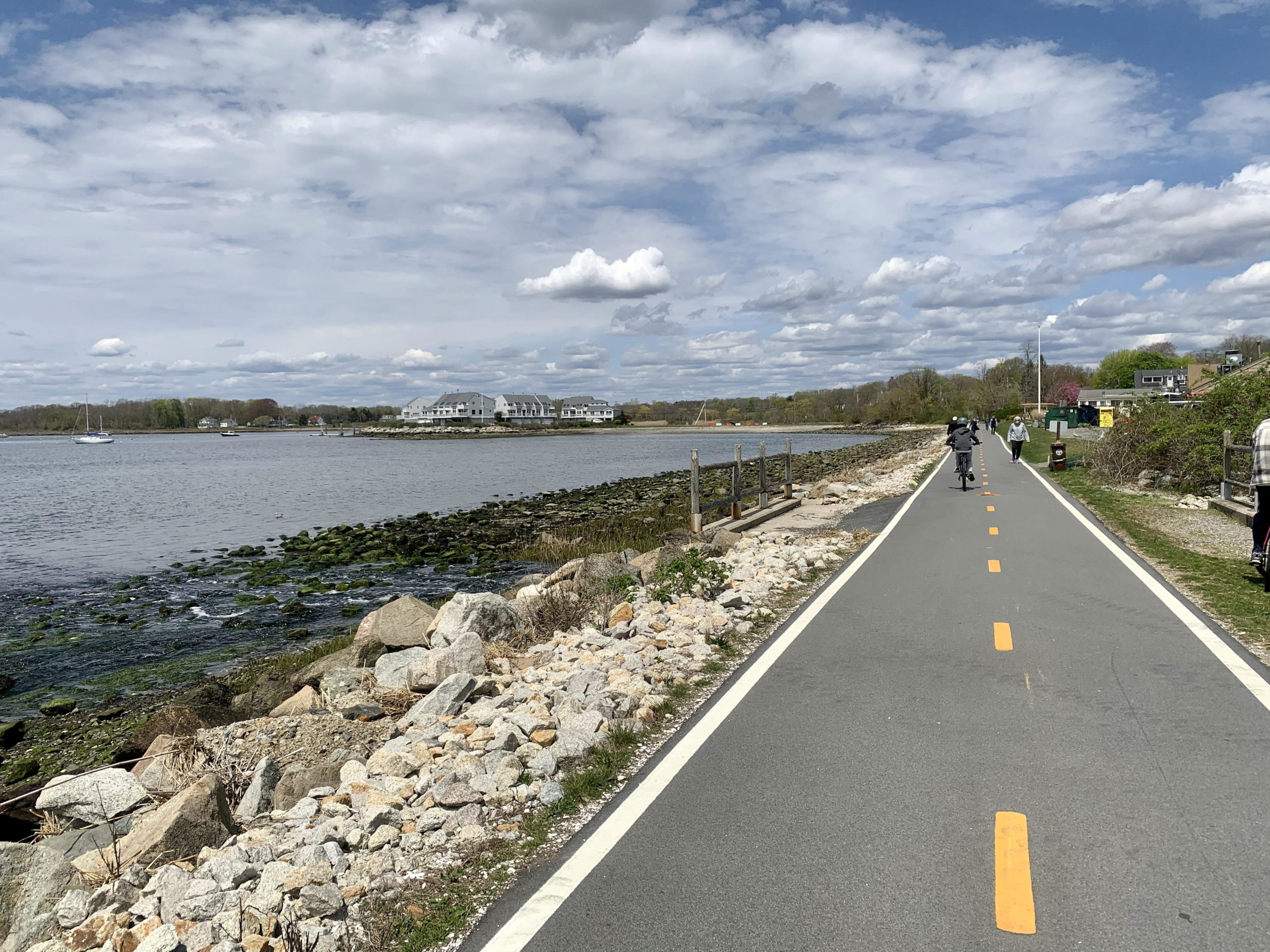 biking in Rhode Island