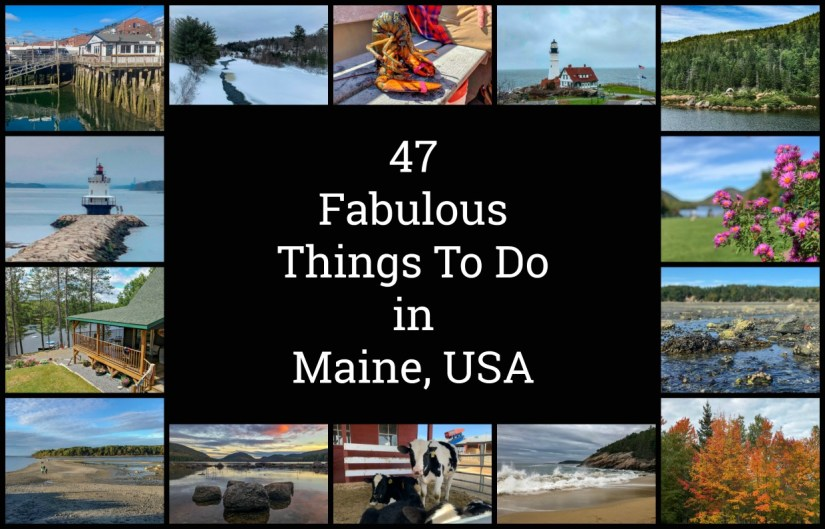 What to do in Maine