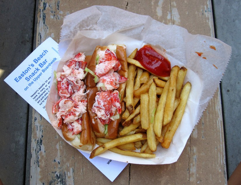 cheapest good lobster rolls in Rhode Island