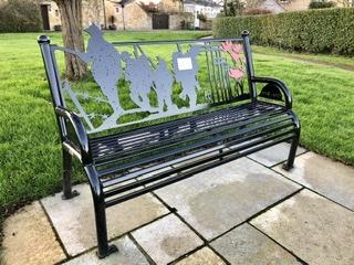 Memorial Bench on adventures in our van blog