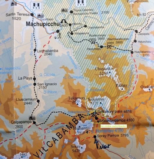 Solo Hiking the Salkantay Trail to Machu Picchu: Day 2 ... on appalacian trail map, inca trail map, santa cruz trail map, mountain trail map, machu picchu trail map, huayna picchu trail map, tuckerman ravine trail map, fat man's pass trail map,