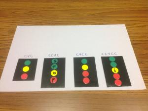 Traffic Light Segmenting & Blending