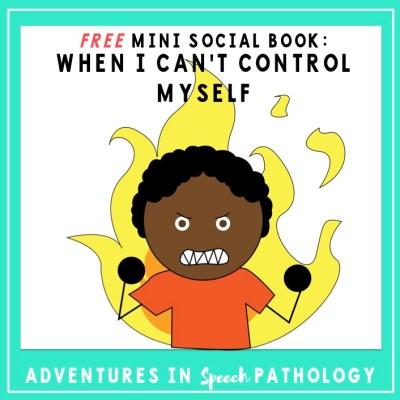Mini Social Book: When I Can't Control Myself *Freebie*