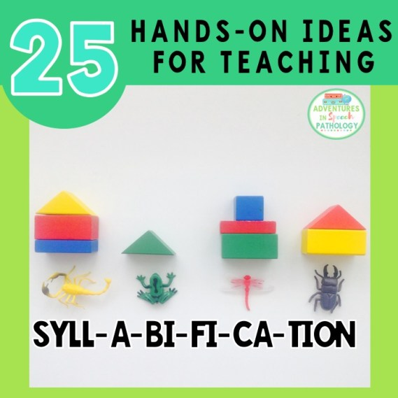 25 hands-on ideas for teaching syllabification