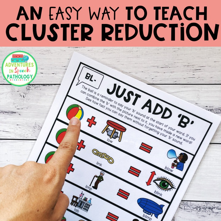 The easy way to teach cluster reduction