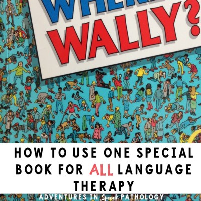 How to use one special book for ALL language therapy